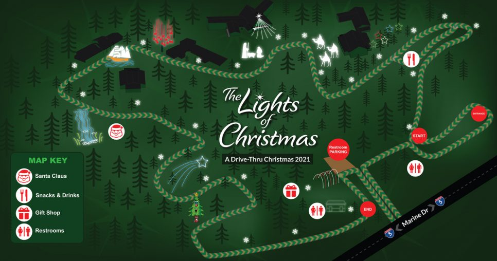 The Lights of Christmas Event Map